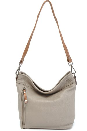 Berba Schoudertas Bucket bag M Taupe