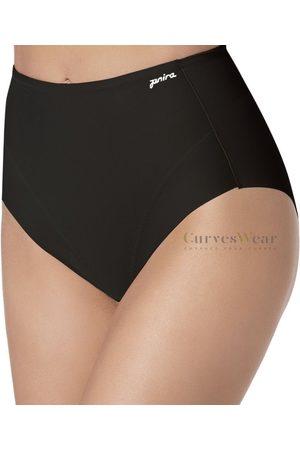 Janira Dames Slips - Flat Tummy Perfect Curves Slip   Black