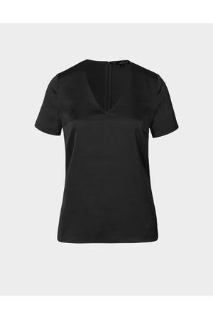 LaDress Dames Blouses - Blouse Birgit Satijnen blouse