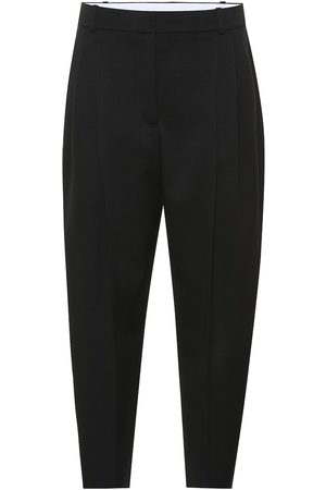 Stella McCartney High-rise tapered wool pants