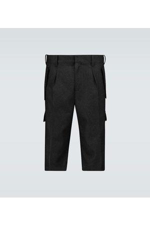 J.W.Anderson Heren Shorts - Wool cargo shorts