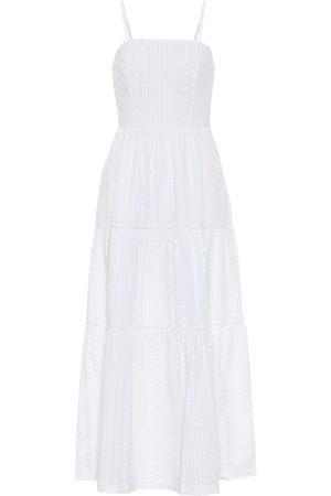 Heidi Klein Dames Lange jurken - Fraser Island seersucker maxi dress