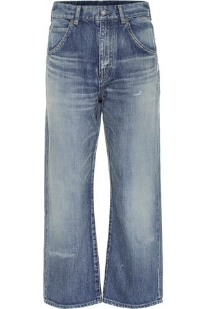 Saint Laurent Dames Straight - '70s high-rise straight jeans