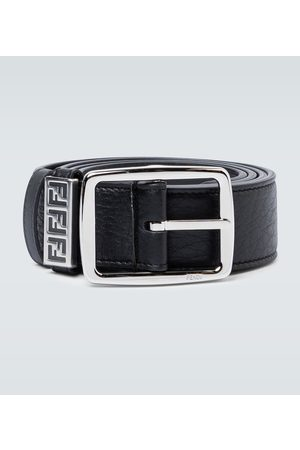 Fendi Classic buckle leather belt