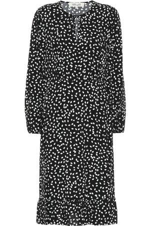 Diane von Furstenberg Campbell printed midi dress