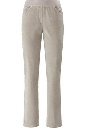 Brax Dames Slim & Skinny broeken - ProForm Slim-fijncord-comfortbroek model Pamina Van Raphaela by