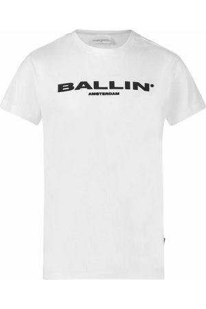 Ballin Jongens Shirt Korte Mouw - Maat 140 - - Katoen/elasthan