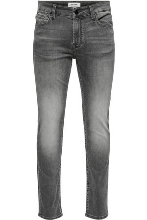 Only & Sons Heren Slim & Skinny broeken - Onsloom Life Slim Zip Jog St 7103 :