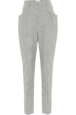 Isabel Marant Loreia slim wool-blend pants