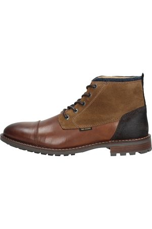 PME Legend Heren Veterschoenen - Grizzler - Cognac