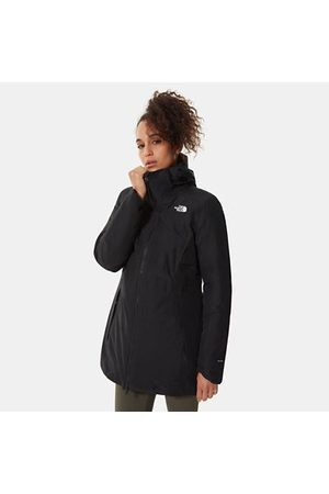 The North Face The North Face Hikesteller Gevoerde Parka Voor Dames Tnf Black/tnf Black Größe L Dame