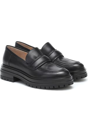 Gianvito Rossi Dames Loafers - Leather loafers