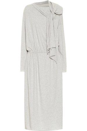 MM6 MAISON MARGIELA Cotton jersey midi dress