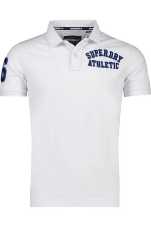 Superdry Witte polo Superstate