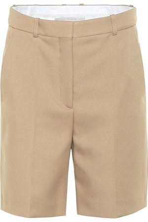 Stella McCartney Amber high-rise Bermuda shorts