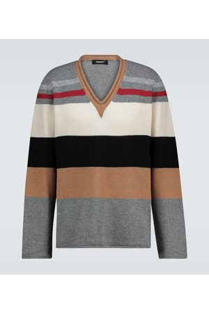 UNDERCOVER Colorblocked V-neck sweater