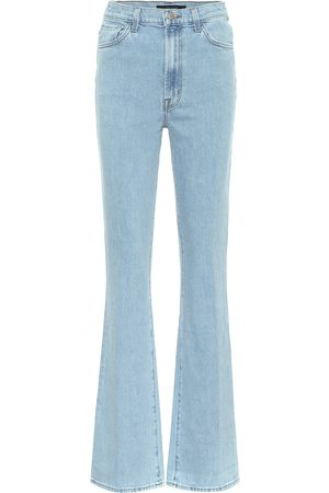 J Brand Runway high-rise flared jeans