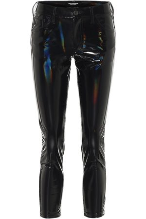 JUNYA WATANABE High-rise skinny PVC pants