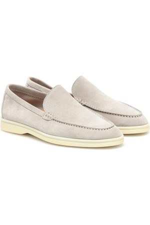 Loro Piana Lady Summer Walk suede loafers