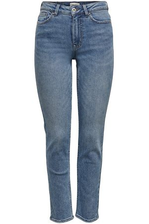 Only Dames Straight - Onlerica Life Mid Ankle Straight Fit Jeans Dames