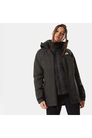 The North Face The North Face Inlux Triclimate-jas Voor Dames Tnf Black Heather/tnf Black Größe L