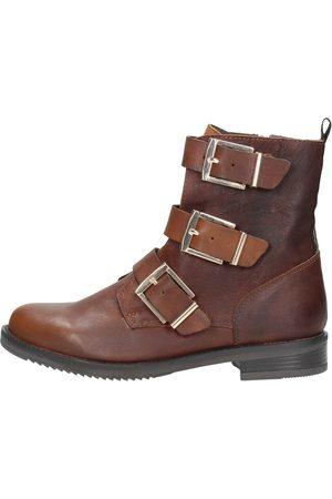 Sub55 Biker Boots - Cognac
