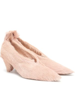 Jil Sander Calf hair pumps
