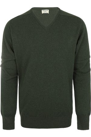 William Lockie Heren Pullovers - Heren Lambswool V-neck