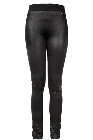 Zusss Dames Leggings & Treggings - Broeken Tregging leer