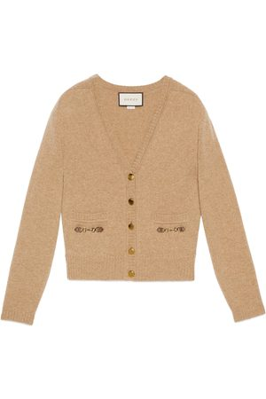 Gucci Dames Cardigans - Cashmere cardigan with Horsebit