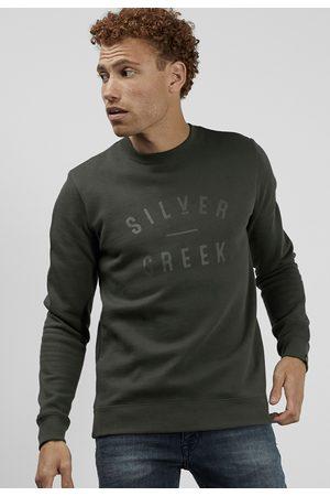 Silvercreek Heren Sweaters - Logo Crew Sweater