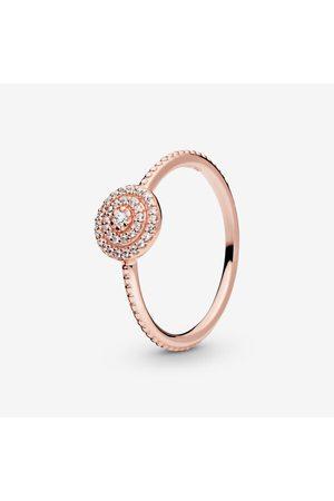 PANDORA Dames Ringen - Elegante Sprankelende Ring, Sieraden, Cubic Zirconia, , 180986CZ-48