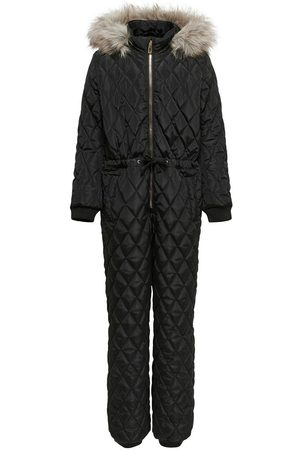 ONLY Dames Jumpsuits - Gewatteerde Jumpsuit Dames Zwart
