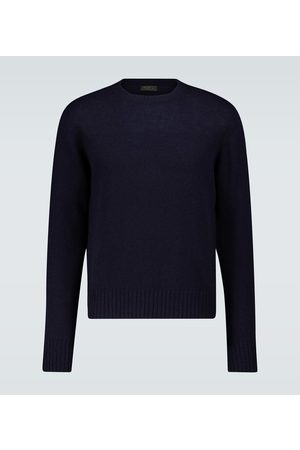 Prada Heren Sweaters - Shetland wool crewneck sweater