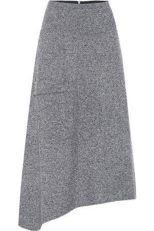 tibi Dames Midi rokken - Asymmetric midi skirt