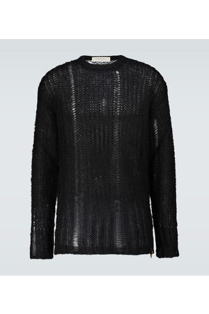 Golden Goose Heren Sweaters - Algar mohair-blend sweater