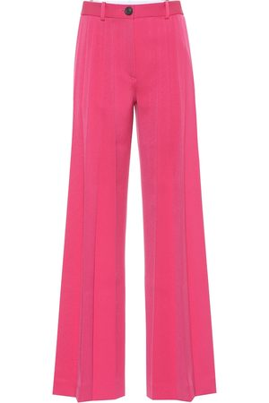 Peter Do High-rise pleated flared pants