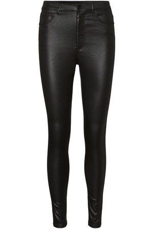 Vero Moda Vmloa High-waist Gecoate Skinny Jeans Dames