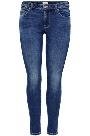 Only Onlisa Life Zip Reg Skinny Fit Jeans Dames