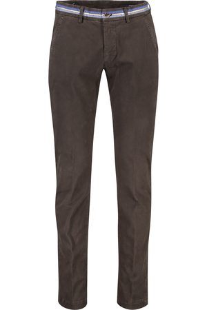 Masons Donkerbruine chino Torino Business