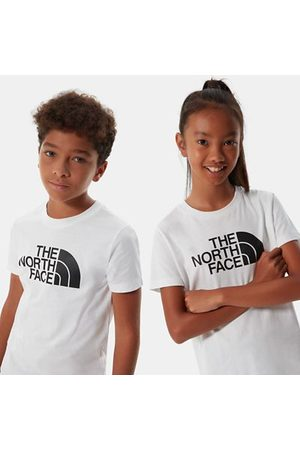 The North Face The North Face Easy T-shirt Met Korte Mouwen Voor Jongeren Tnf White / Tnf Black Größe L Unisex