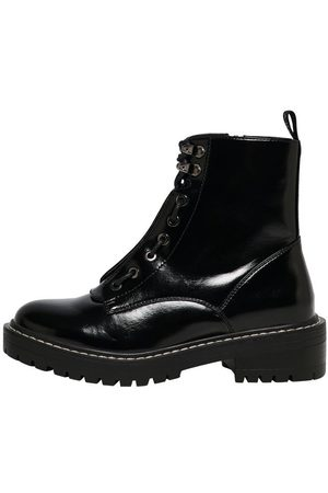 Only Leather Look Boots Dames