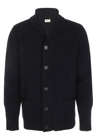 William Lockie Heren Jamie Shawl Colar Cardigan