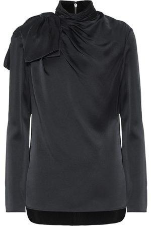 Khaite Dames Blouses - Francine crêpe blouse
