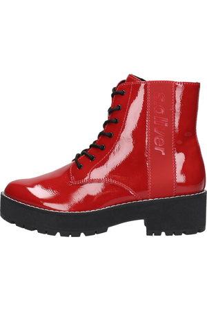 s.Oliver Dames Veterlaarzen - Chunky Boots