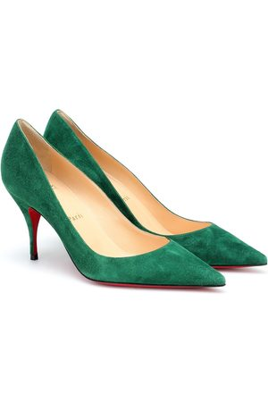 Christian Louboutin Clare 80 suede pumps
