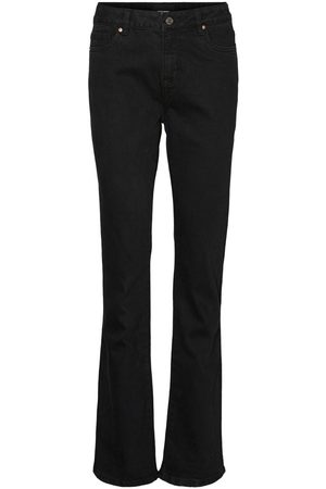 Vero Moda Vmsaga High-waist Flared Jeans Dames