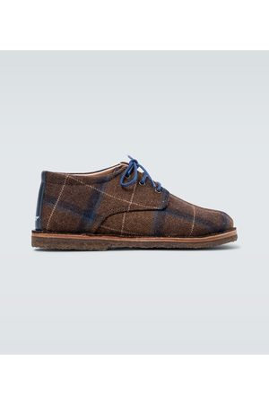 UNDERCOVER Checked derby shoes