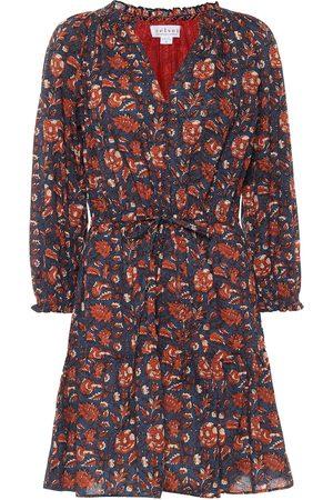 Velvet Shoshana floral cotton minidress