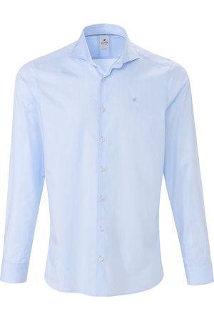 Hatico Heren Overhemden - Overhemd van 100% katoen met streepdessin Van Pure